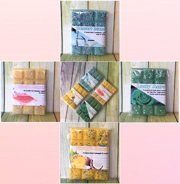 WAX MELTS SNAP BARS