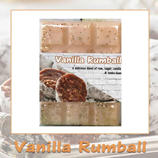 Vanilla Rumball ~ Fragrant Wax Melts