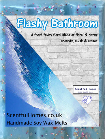 Flashy Bathroom Wax Melts