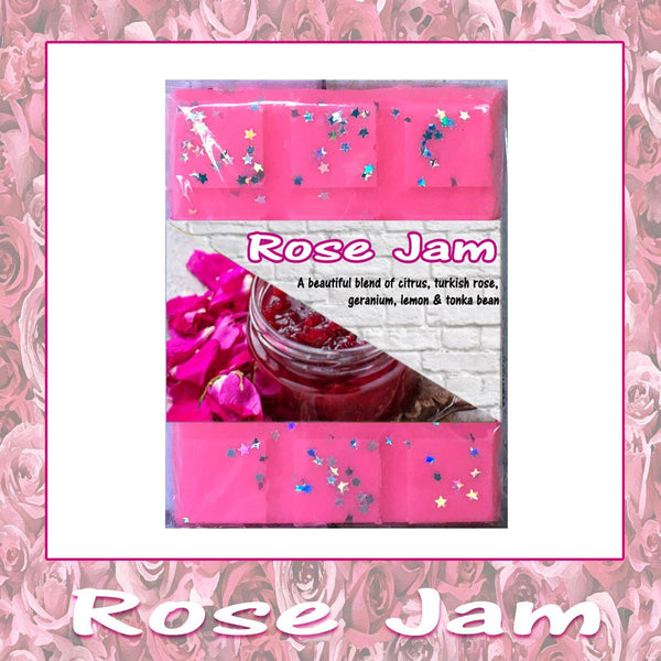 Rose Jam ~ Fragranced Wax Melts - Scentful Homes