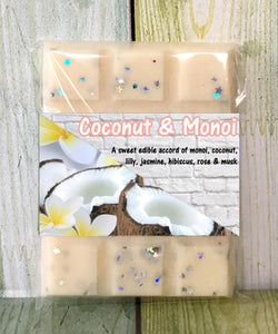 Coconut & Monoi ~ Fragrant Wax Melts