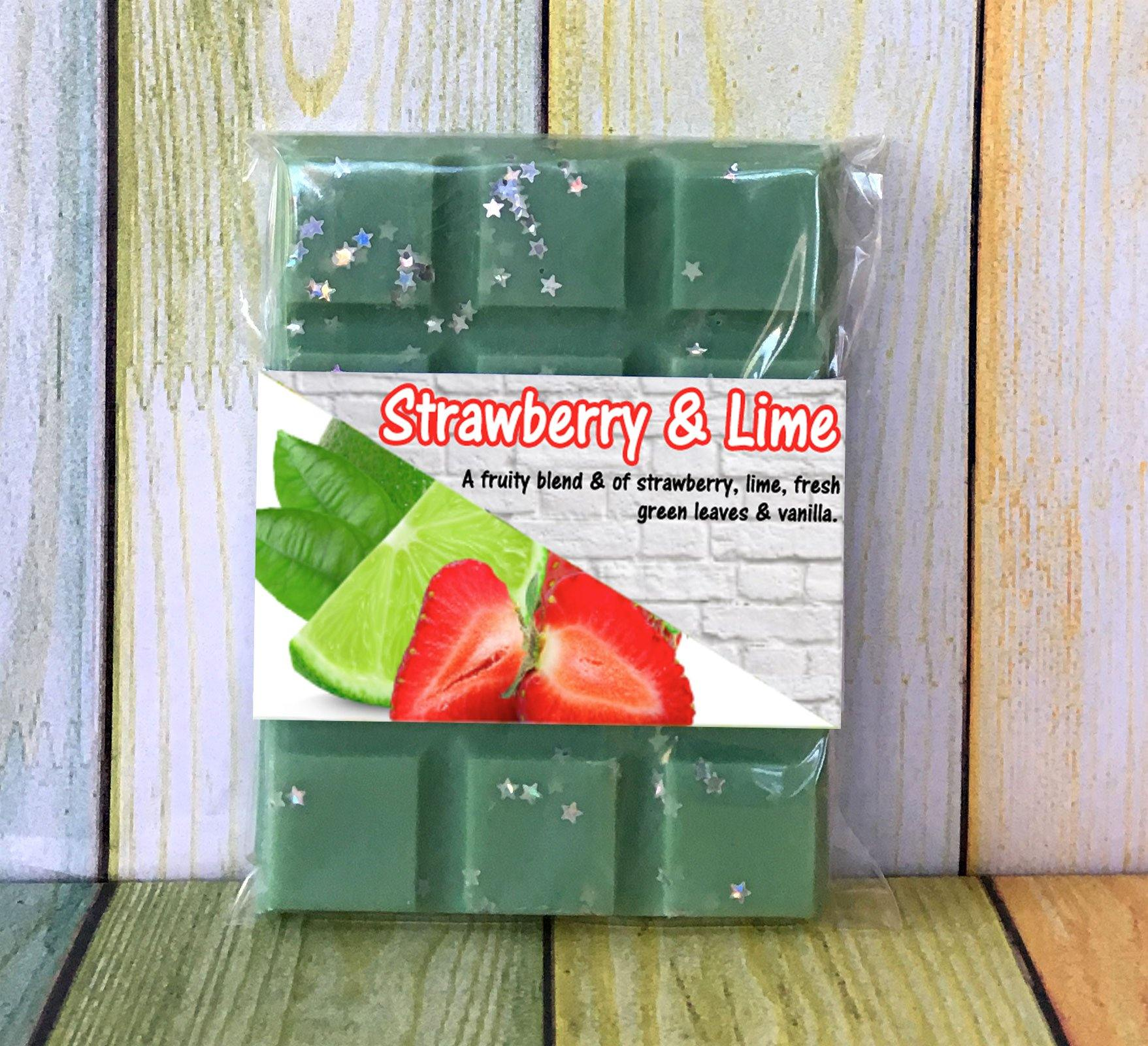 Strawberry & Lime ~ Fragranced Wax Melts