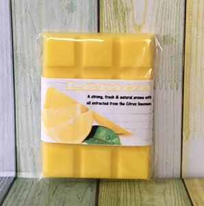 Lemon Essential Oil ~ Fragranced Wax Melts - Scentful Homes