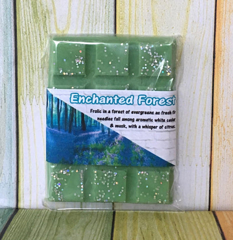 Enchanted Forest ~ Scented Wax Melts Snap Bar ~ Tarts Pot