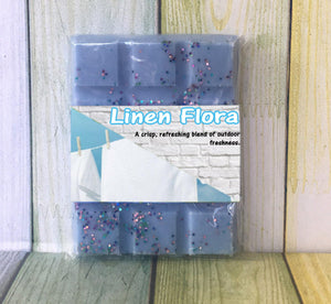 Linen Flora ~ Fragranced Wax Melts