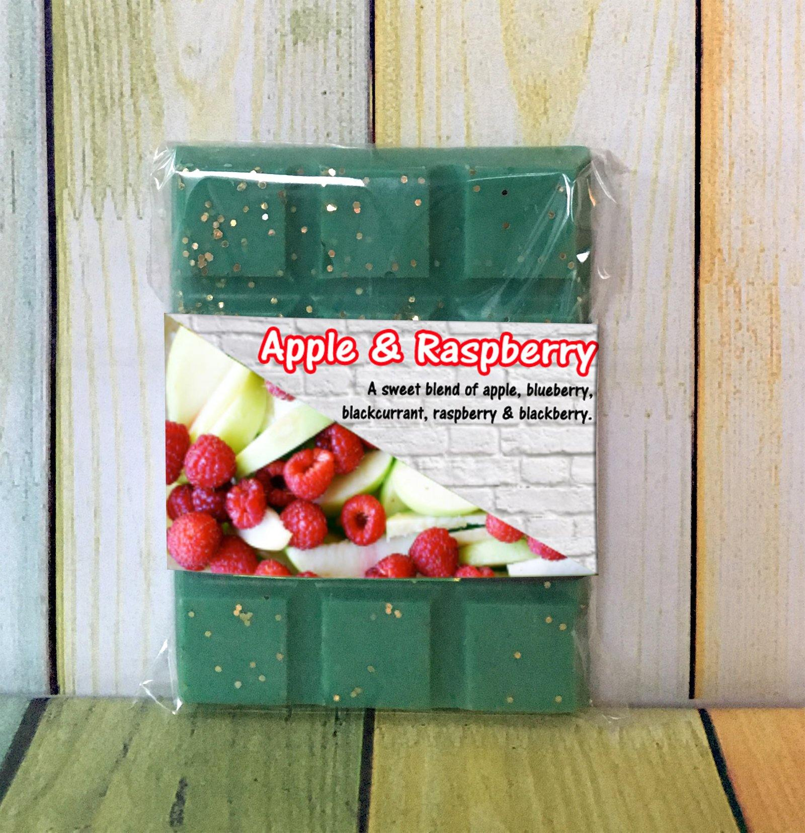 Apple & Raspberry ~ Fragranced Wax Melts