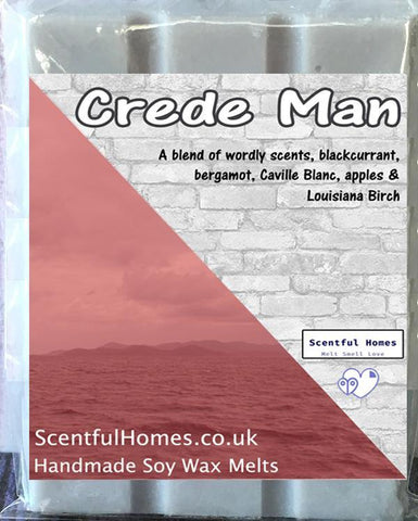 Crede Man ~ Fragrant Wax Melts