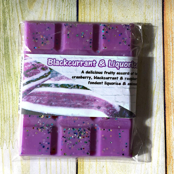 Blackcurrant & Liquorice ~ Fragranced Wax Melts