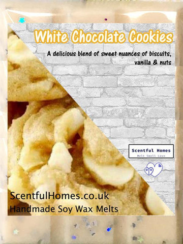 White Chocolate Cookies ~ Fragrant Wax Melts - Scentful Homes