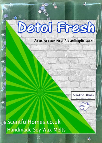 Detol Fresh ~ Scented Wax Melts