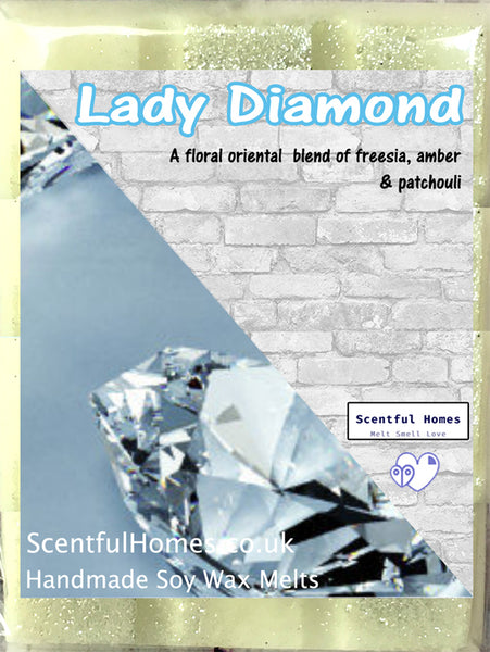 Lady Diamond ~ Scented Wax Melts