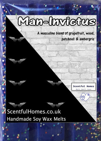 Man-Invictus ~ Candle Wax Melts - Scentful Homes
