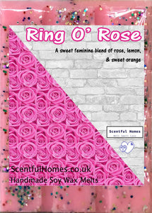 Ring O' Rose ~ Fragrant Wax Melts - Scentful Homes