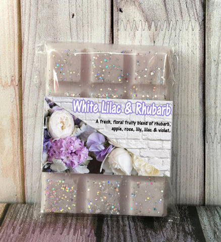 White Lilac and Rhubarb (JM Dupe) ~ Fragrant Wax Melts - Scentful Homes