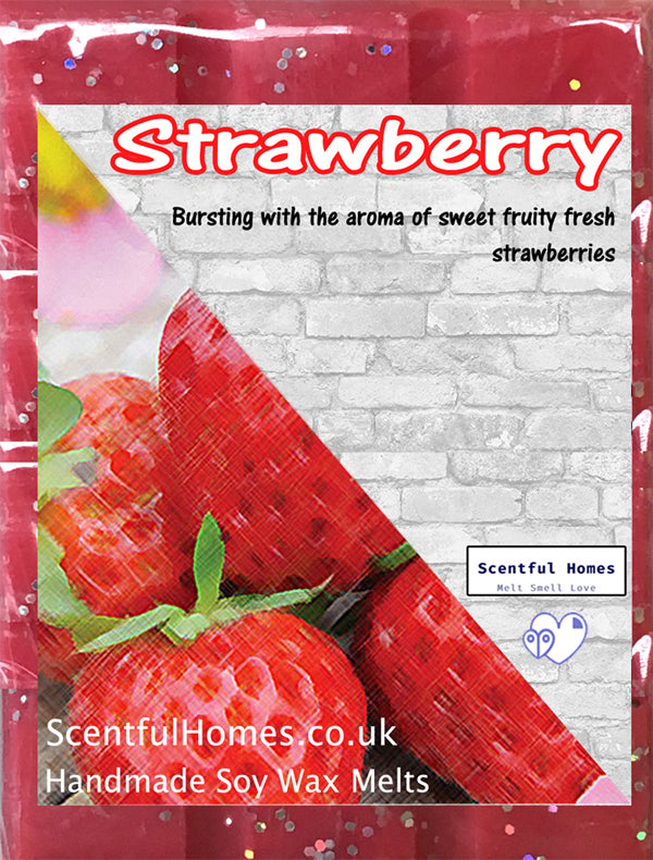 Strawberry ~ Fragrant Candle Wax Melts