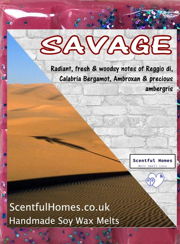 Savage Man ~ Fragrant Wax Melts