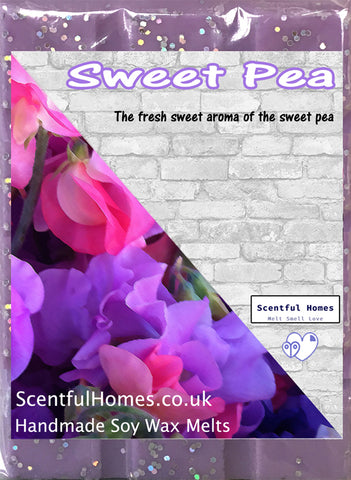 Sweet Pea ~ Fragrant Candle Wax Melts