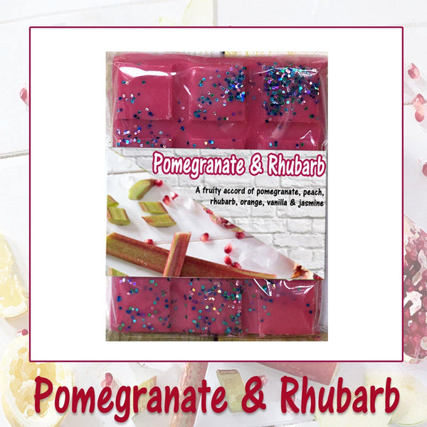 Pomegranate & Rhubarb ~ Scented Wax Melts