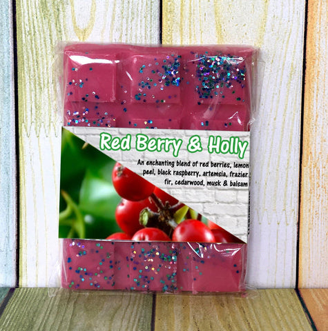 Red Berry & Holly ~ Fragranced Wax Melts