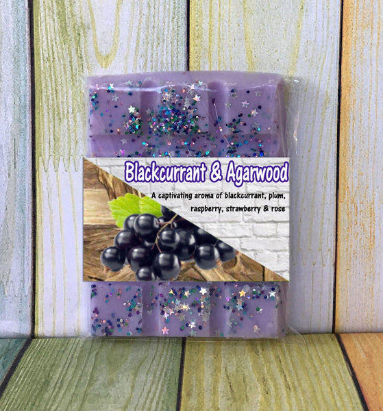 Blackcurrant & Agarwood ~ Fragranced Wax Melts