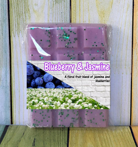 Blueberry Jasmine ~ Fragranced Wax Melts