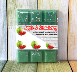 Apple & Strawberry ~ Scented Wax Melts