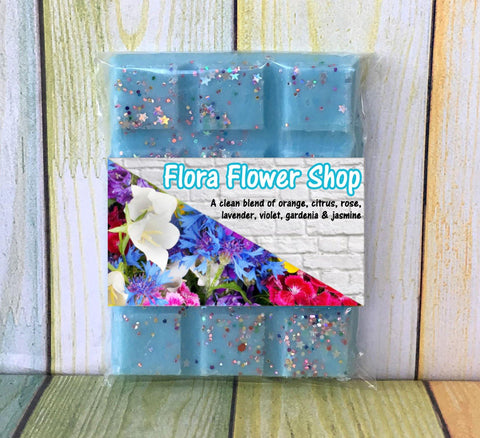 Flora Flower Shop ~ Fragranced Wax Melts