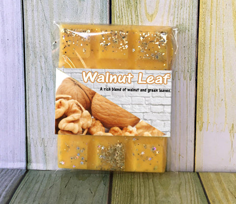 Walnut Leaf ~ Scented Wax Melts - Scentful Homes