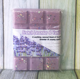 French Lavender & Vanilla ~ Scented Wax Melts Snap Bar ~ Tarts Pot