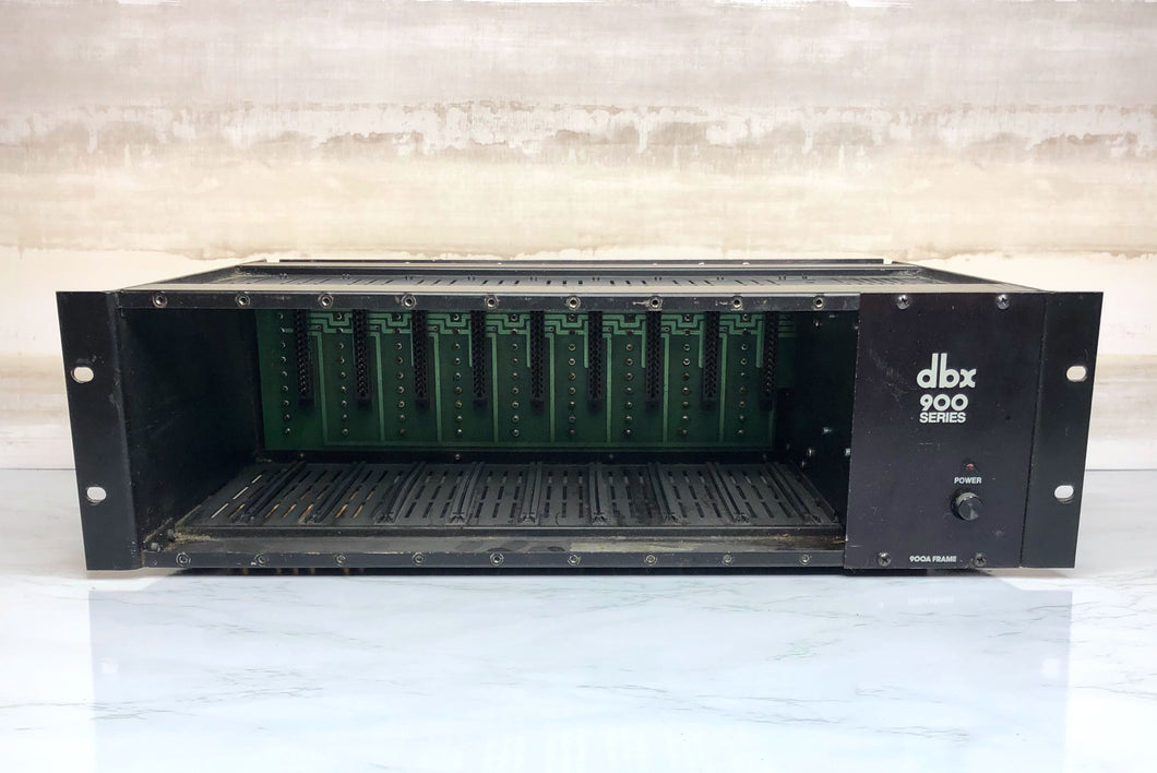 DBX 900 9-Space Rack Chassis with Custom XLR Panel