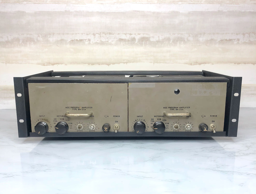 RCA BA-25A Program Amplifier Compressors (Pair)