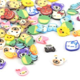 Kawaii Animals Fimo Cane Slices