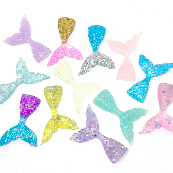 Mermaid Tail Slime Charms