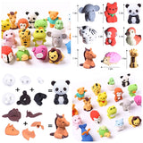 Animal Themed Puzzle Erasers