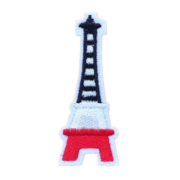 Iron-On Eiffel Tower Patch
