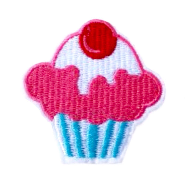 Iron-On Cupcake Patch