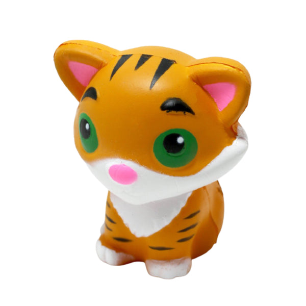 Slow Rise Orange Tiger Squishy
