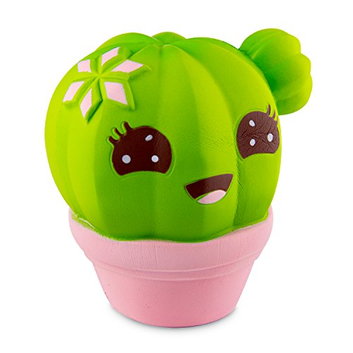 Slow Rise Kawaii Cactus Squishy
