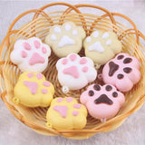Slow Rise Paw Print Squishies