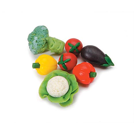 Miniature Dollhouse Vegetables Set
