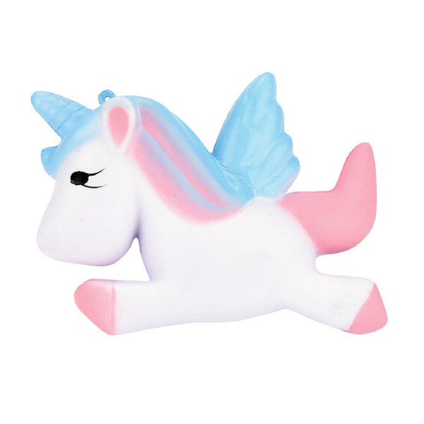Slow Rise Pearlescent Unicorn Squishy