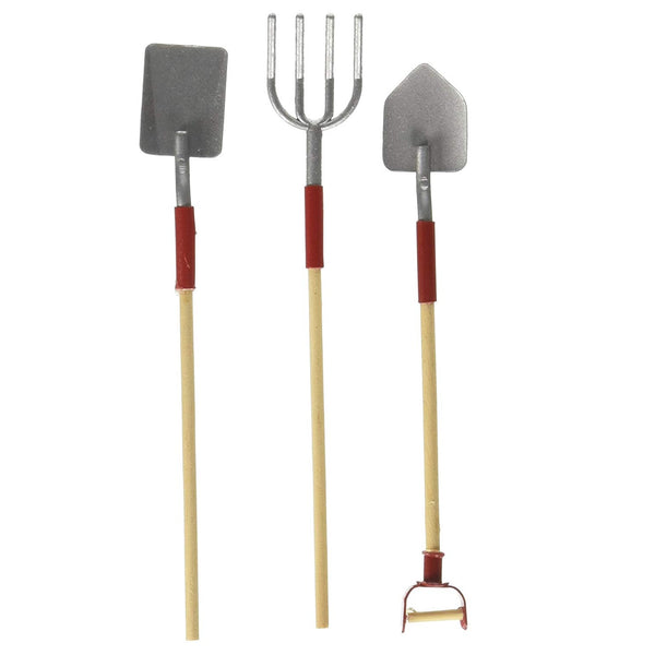 Miniature Dollhouse Garden Tools