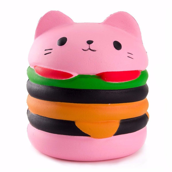 Slow Rise Cat Burger Squishies