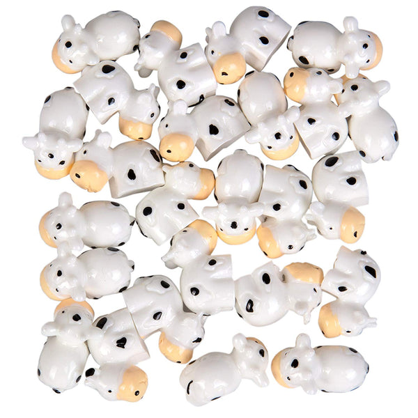 Cute Cow Slime Charms