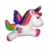 Slow Rise Rainbow Heart Unicorn Pegasus Squishy