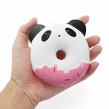 Slow Rise Panda Kitty Donut Squishies