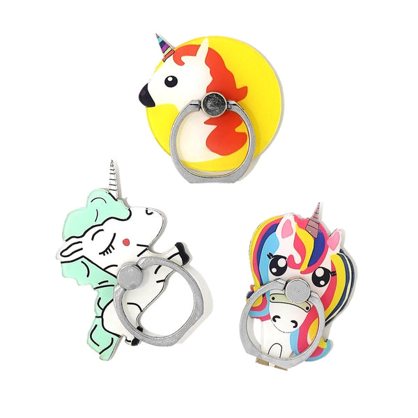 Unicorn Phone Ring Kickstand
