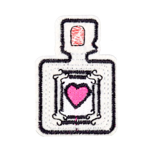 Iron-On Perfume Bottle Patch
