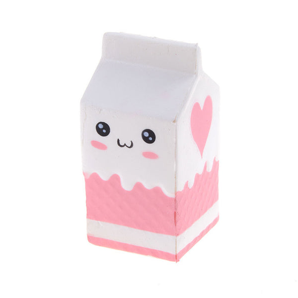 Slow Rise Milk Carton Squishies