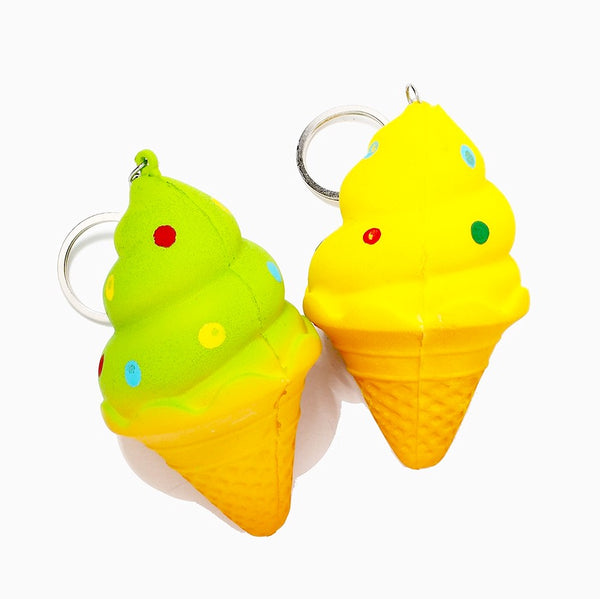 Mini Slow Rise Ice Cream Squishies!